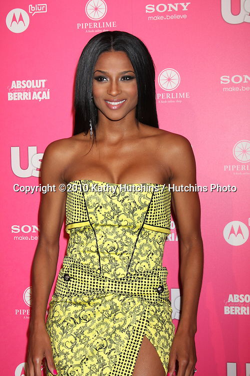 Ciara.arrives at the US Weekly Hot Hollywood Party 2010.Drai's at the W Hotel Hollywood.Los Angeles, CA.April 22, 2010.©2010 Kathy Hutchins / Hutchins Photo...