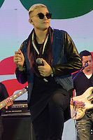S&Atilde;O PAULO 19.06.2016 - SHOWS-SP - MC Gui durante apresenta&ccedil;&atilde;o do seu show na Portuguesa, na festa junina da Band FM na zona norte de S&atilde;o Paulo na noite de ontem domingo, 19. (Foto<br /> Eduardo Martins/ Brazil Photo Press)