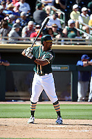 Khris Davis - Oakland Athletics 2016 spring training (Bill Mitchell)