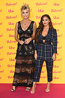 LONDON, UK. October 16, 2018: Chloe Meadows &amp; Courtney Green arriving for the &quot;ITV Palooza!&quot; at the Royal Festival Hall, London.<br /> Picture: Steve Vas/Featureflash