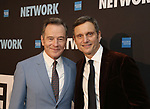 "Bryan Cranston and Tony Goldwyn attends the Broadway Opening Night After Party  for ""Network"" at Jack's Studios on December 6, 2018 in New York City."