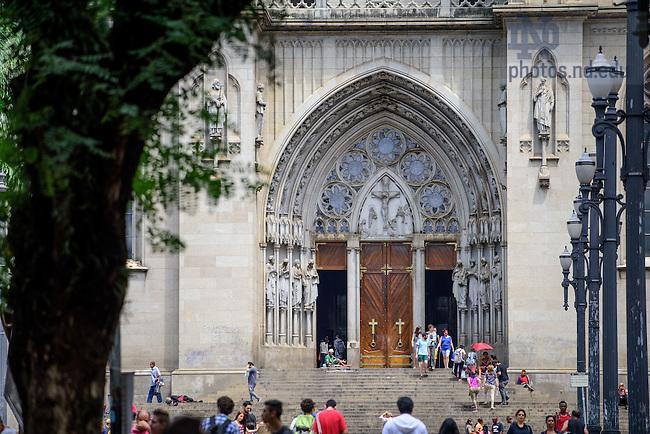 Mar. 12, 2016; Catedral da Se de São Paulo (Photo by Matt Cashore/University of Notre Dame)