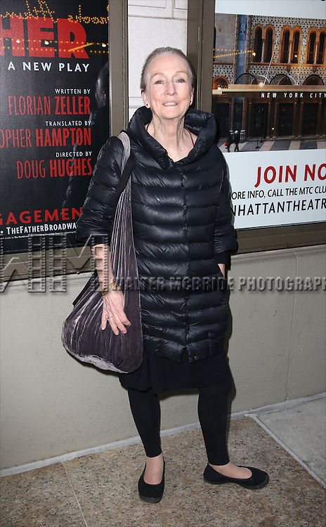 Kathleen Chalfant attends the Broadway Opening Night performance of 'The Father'  at The Samuel J. Friedman Theatre on April  14, 2016 in New York City.