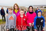Ronan, Catherine and David Hoare, Veronica Sugrue and Brian Cahill at the new walkway opening in Rossbeigh on Saturday