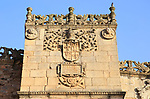 Historic tower house of Golfines, medieval old town, Caceres, Extremadura, Spain