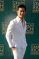 HOLLYWOOD, CA - AUGUST 7: Pierre Png at the premiere of Crazy Rich Asians at the TCL Chinese Theater in Hollywood, California on August 7, 2018. <br /> CAP/MPI/DE<br /> &copy;DE//MPI/Capital Pictures