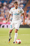 Real Madrid's Theo Hernandez during XXXVIII Santiago Bernabeu Trophy at Santiago Bernabeu Stadium in Madrid, Spain August 23, 2017. (ALTERPHOTOS/Borja B.Hojas)