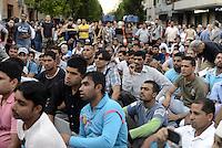 Roma, 28 Settembre 2014<br /> Manifestazione organizzata dalla comunità pakistana in ricordo di Muhammad Shahzad Khan, il giovane pakistano ucciso nel quartiere di Tor Pignattara da un 17enne italiano che ha confessato l'omicidio.