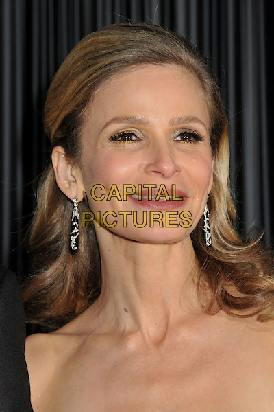 KYRA SEDGWICK.NBC Universal 66th Annual Golden Globes Post Party at the Beverly Hilton Hotel, Beverly Hills, California, USA..January 11th, 2009.headshot portrait dangling earrings .CAP/ADM/BP.©Byron Purvis/AdMedia/Capital Pictures.