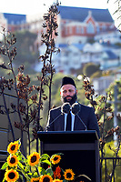 International Muslim Association Of New Zealand president Tahir Nawaz. National Remembrance Day at Waitangi Park in Wellington, New Zealand on Saturday, 9 March 2019. Photo: Dave Lintott / lintottphoto.co.nz