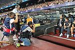 Barcelona's Josep Guardiola during Champions League match on september 13th 2011...Photo: Cesar Cebolla / ALFAQUI