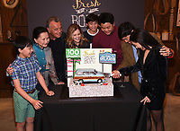 2/27/19 - Los Angeles: Fresh Off the Boat 100th Episode Cake Cutting