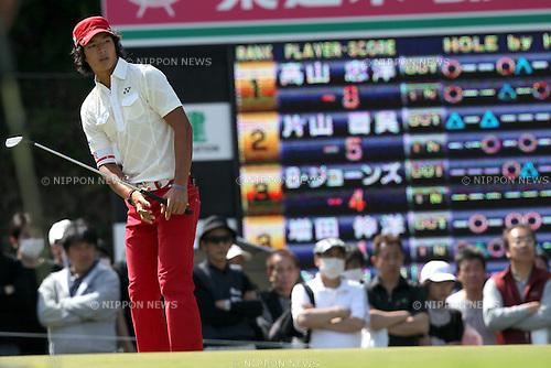 Ryo Ishikawa, APRIL 17, 2011 - Golf : 19th Japan Golf Tour Token Homemate Cup 2011 Final Round at Token Tado Country Club Nagoya, Mie, Japan. (Photo by Akihiro Sugimoto/AFLO SPORT) [1080]