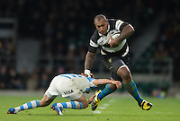 20151121 Barbarians vs Argentina. Twickenham. UK
