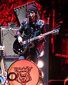 SUNRISE FL - SEPTEMBER 20: Jordan Cook of Reignwolf performs at The BB&T Center on September 20, 2019 in Sunrise, Florida. Photo by Larry Marano © 2019