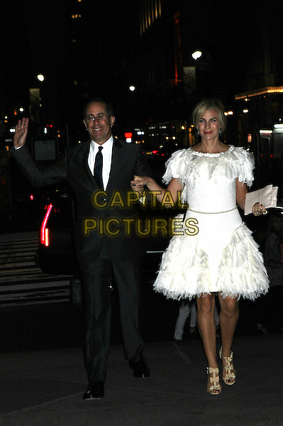 NEW YORK, NY - JUNE 2: Jerry Seinfeld and Jessica Seinfeld  arrive to the Chanel Fine Jewelry Dinner at The New York Public Library on June 2, 2016 in New York City. <br /> CAP/MPI/DIE<br /> &copy;DIE/MPI/Capital Pictures