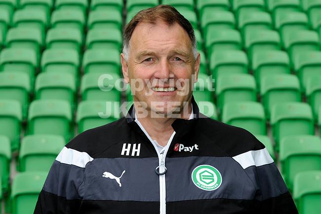 GRONINGEN - Voetbal, Presentatie FC Groningen , seizoen 2017-2018, 11-09-2017,   verzorger Henk Hagenouw