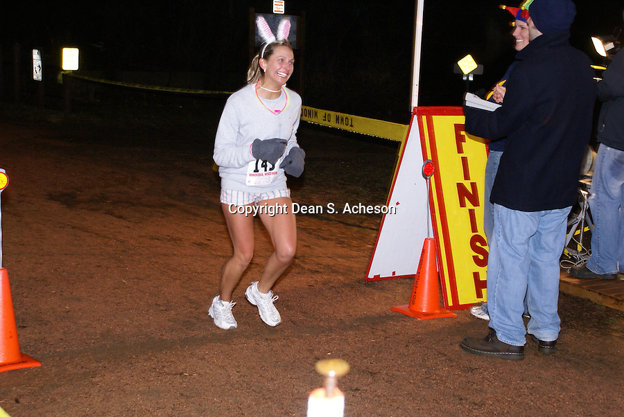 Only Fools Run at Midnight attracted more than 440 runners at Minocqua, WI.