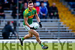 Matthew O'Sullivan South Kerry in action against  Kerins O'Rahillys in the Kerry Senior Football Championship Semi Final at Fitzgerald Stadium on Saturday.