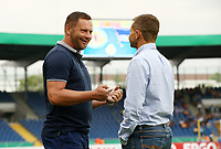 Trainer Pal Dardai, sport director  Manager Marc Arnold (Ex Herthaspieler)   <br /> / Sport / Football / DFB Pokal 1.round 3. Bundesliga Bundesliga /  2018/2019 / 20.08.2018 / BTSV Eintracht Braunschweig vs. Hertha BSC Berlin / DFL regulations prohibit any use of photographs as image sequences and/or quasi-video. /<br />       <br />    <br />  *** Local Caption *** &copy; pixathlon<br /> Contact: +49-40-22 63 02 60 , info@pixathlon.de