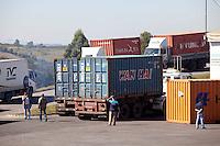 Varginha_MG, Brasil...O novo porto seco da cidade de Varginha, Minas Gerais...The new dry port of Varginha, Minas Gerais...Foto: LEO DRUMOND / NITRO