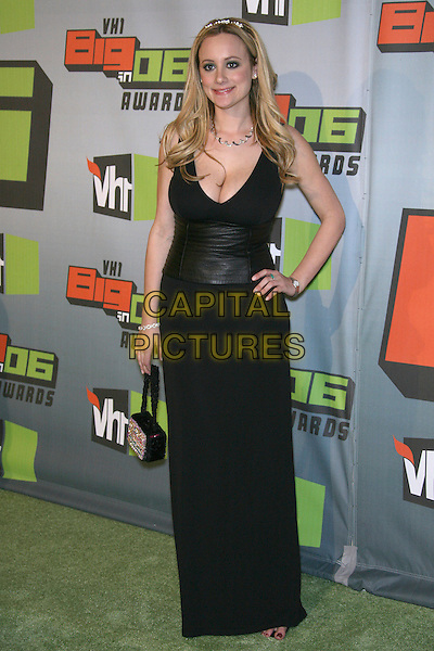 ERICA ROSE.VH1 Big In '06 Awards  held at Sony Pictures Studios, Culver City, California, USA,.02 December 2006..full length black dress hand on hip.CAP/ADM/ZL.©Zach Lipp/AdMedia/Capital Pictures.