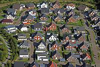 Einfamilienhaussiedlung: EUROPA, DEUTSCHLAND, SCHLESWIG- HOLSTEIN, GEESTHACHT (GERMANY), 15.09.2016:  Einfamilienhaussiedlung