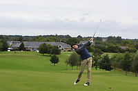 Gavin Smyth (Mount Juliet) on the 1st fairway during the Final round of the Irish Mixed Foursomes Leinster Final at Millicent Golf Club, Clane, Co. Kildare. 06/08/2017<br /> Picture: Golffile | Thos Caffrey<br /> <br /> <br /> All photo usage must carry mandatory copyright credit      (&copy; Golffile | Thos Caffrey)