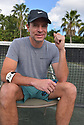 BOCA RATON, FL - NOVEMBER 22: Scott Foley poses for portrait during the 30TH ANNUAL Chris Evert Pro-Celebrity Tennis Classic presented by Chase Private Client at Boca Raton Resort & Club on November 22, 2019 in Boca Raton, Florida.   ( Photo by Johnny Louis / jlnphotography.com )