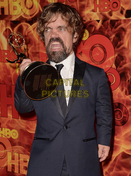 20 September  2015 - West Hollywood, California - Peter Dinklage. Arrivals for the 2015 HBO Emmy Party held at the Pacific Design Center. <br /> CAP/ADM/BT<br /> &copy;BT/ADM/Capital Pictures