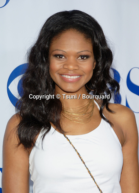 Kimberly Elise  arriving at the  CBS television Critic Assocoation Summer Party at the Rose Bowl in Los Angeles.<br /> eye contact<br /> headshot<br /> smile