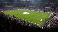 FUSSBALL  CHAMPIONS LEAGUE  ACHTELFINALE  HINSPIEL  2012/2013      FC Bayern Muenchen - FC Arsenal London     13.03.2013 Uebersicht der Allianz Arena in Muenchen