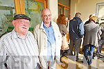 TOP OF THE QUEUE: Former South Kerry Independent deputy, Jackie Healy-Rae who was at the top of the queue for All-Ireland tickets at County Board headquarters on Tuesday..
