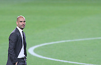5/05/2012. Barcelona, Spain. La Liga. Match between FC Barcelona against RCD ESpanyol. Picture show Pep Guardiola at last match at Camp Nou