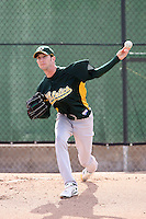 Jerry Blevins - Oakland Athletics 2009 spring training.Photo by:  Bill Mitchell/Four Seam Images