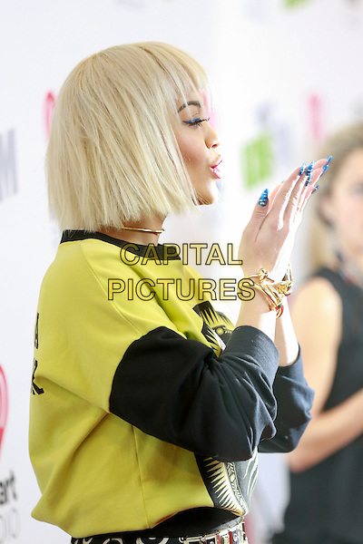 LOS ANGELES, CA - 12, 05: Rita Ora attending KIIS FM's Jingle Ball 2014 At The Staples Center on December 5, 2014. <br /> CAP/MPI/FIS<br /> &copy;mpiFisher/MediaPunch/Capital Pictures