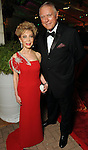 Margaret Alkek Williams and Jim Danniel at the post performance dinner following the Houston Grand Opera's 2010-2011 season opener Friday Oct. 22, 2010. (Dave Rossman/For the Chronicle)