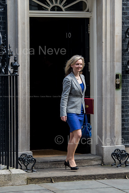 Elizabeth Truss MP (Secretary of State for Environment, Food and Rural Affairs).<br />
