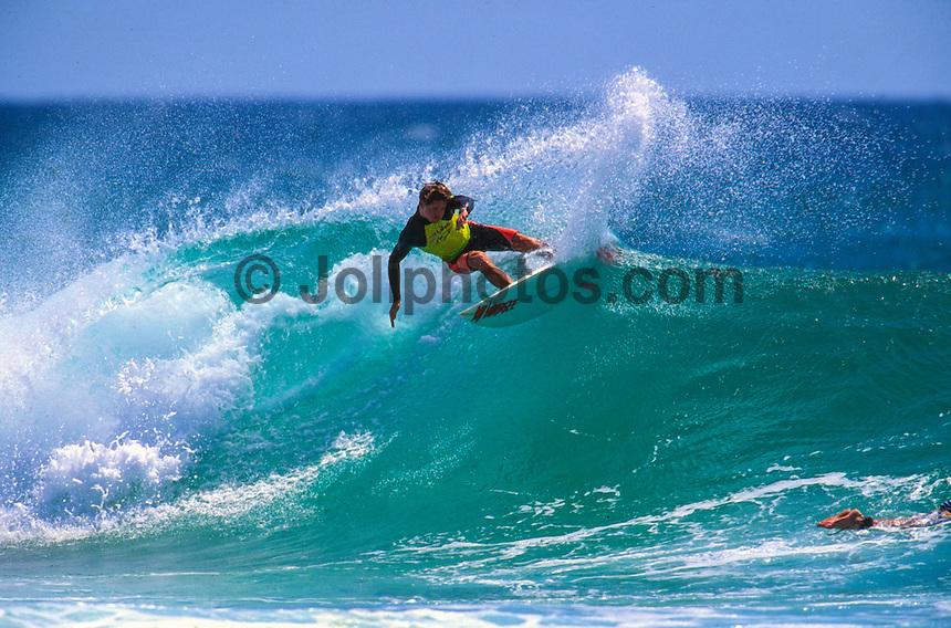 "Jason 'China"" O'Conner (AUS) surfing D-Bah circa 1993. Photo: joliphotos.com"