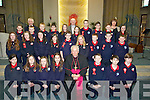 Pupils from Listellick NS on Friday with the Bishop of Kerry after he confirmed them on Thursday in St Brendan's Church, Tralee.