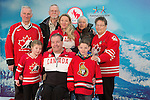 Ottawa, ON - January 24 2017 - Todd Nicholson and his family after bring announced as the Team Canada Chef de Mission for the 2018 Paralympic Winter Games in Pyeongchang, South Korea at the Jim Durrell Recreation Complex in Ottawa, Ontario, Canada (Photo: Matthew Murnaghan/Canadian Paralympic Committee)