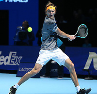 Alexander Zverev (GER)  <br /> London 14/11/2019 O2 Arena <br /> Tennis Nitto ATP Finals 2019 <br /> Photo Melanie Jeusette / Panoramic/ Insidefoto