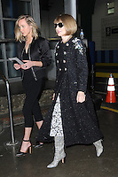 www.acepixs.com<br /> February 17, 2017 New York City<br /> <br /> Anna Wintour seen at the Yeezy Fashion Show Season 5 on February 17, 2017 in New York City.<br /> <br /> Credit: Kristin Callahan/ACE Pictures<br /> <br /> <br /> Tel: 646 769 0430<br /> e-mail: info@acepixs.com