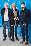 Andrew Haigh, Charlotte Rampling and Tom Corutenay promotes his 45 Years film during the LXV Berlin film festival, Berlinale at Potsdamer Straße in Berlin on February 6, 2015. Samuel de Roman / Photocall3000 / Dyd fotografos-DYDPPA.