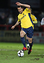 Anthony Tonkin of Oxford United during the  Blue Square Premier match between Stevenage Borough and Oxford United at the Lamex Stadium, Broadhall Way, Stevenage on Tuesday 30th March, 2010..© Kevin Coleman 2010 .