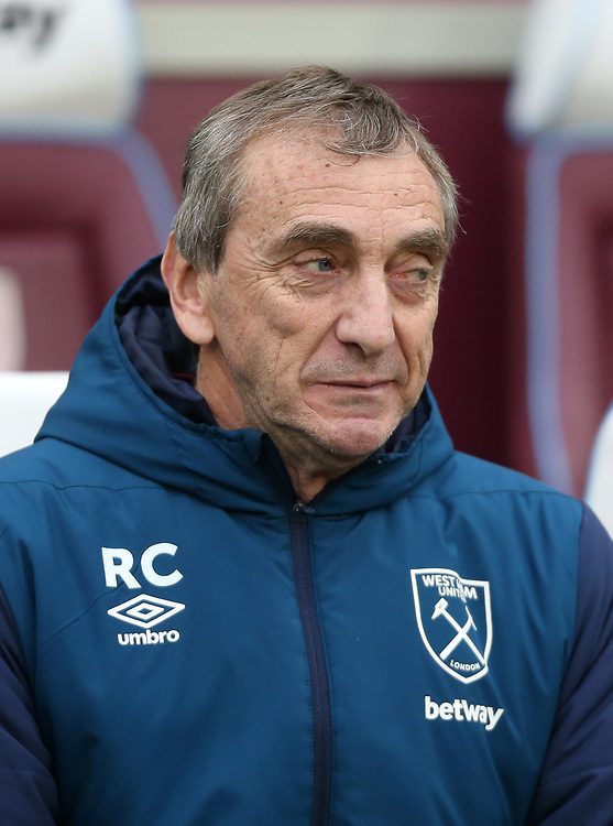 West Ham United's Assistant Coach Ruben Cousillas<br /> <br /> Photographer Rob Newell/CameraSport<br /> <br /> Emirates FA Cup Third Round - West Ham United v Birmingham City - Saturday 5th January 2019 - London Stadium - London<br />  <br /> World Copyright &copy; 2019 CameraSport. All rights reserved. 43 Linden Ave. Countesthorpe. Leicester. England. LE8 5PG - Tel: +44 (0) 116 277 4147 - admin@camerasport.com - www.camerasport.com