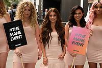 Dani Dyer<br /> The Mane Event photocall at LOndon Fashion Week 2018, London<br /> <br /> ©Ash Knotek  D3430  14/09/2018