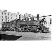 D&amp;RGW #461 K-27 right side view.<br /> D&amp;RGW  Durango, CO  9/1950