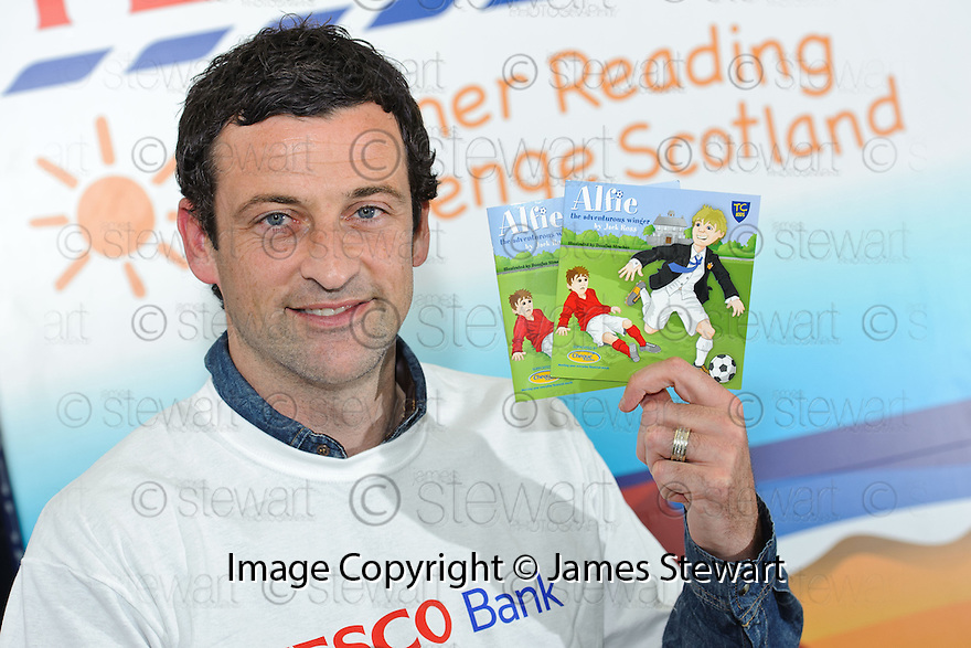 "Former footballer Jack Ross kicks off his career as a children's author with the launch of his new book "" Alfie  The Adventurous Winger "" ...."