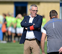 20180915 - Brugge , BELGIUM : Brugge's assistant coach  Leo Van Der Elst pictured during the third game in the first division season 2018-2019 between the women teams of Club Brugge Dames and Eendracht Aalst , Saturday 15 September 2018 . PHOTO DAVID CATRY | SPORTPIX.BE